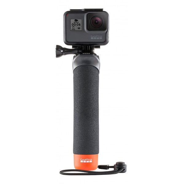 GoPro - The Handler - Black - Floating Hand Grip - Usable with GoPro HERO6 / HERO5 - 4K 1080p - GoPro Accessories