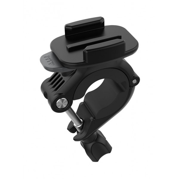 GoPro - Handlebar / Seatpost / Pole Mount - Black - Support - Usable with GoPro HERO6 / HERO5 - 4K 1080p - GoPro Accessories