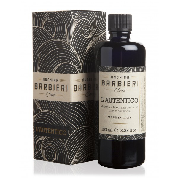 Anonima Barbieri - L'Autentico - Shampoo for Beard - Detergent and Keep the Beard Hair Clean
