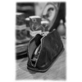 Anonima Barbieri - A.S. 98 - L' Astuccio - Astuccio Portaforbici in Pelle Vintage - Cuoio Lavorato a Mano da Maestri Artigiani