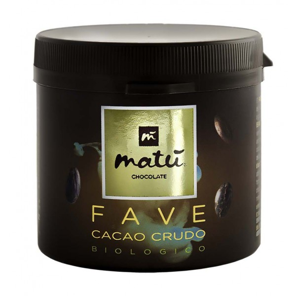 Matù Chocolate - Organic Peeled and Non-Toasted Cocoa Beans - Organic Vegan