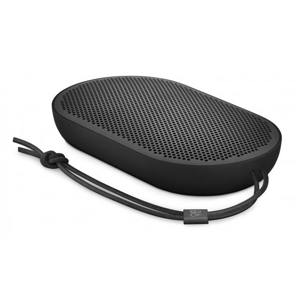Bang & Olufsen - B&O Play - Beoplay P2 - Nero - Altoparlante Portatile di Alta Qualità Resistente alla Polvere e all' Acqua