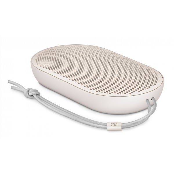Bang & Olufsen - B&O Play - Beoplay P2 - Sand Stone - Portable Splash and Dust Resistant Bluetooth High Quality Speaker