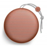 Bang & Olufsen - B&O Play - Beoplay A1 - Rosso Mandarino - Altoparlante Bluetooth Portatile di Alta Qualità - Oltre 24h Batteria
