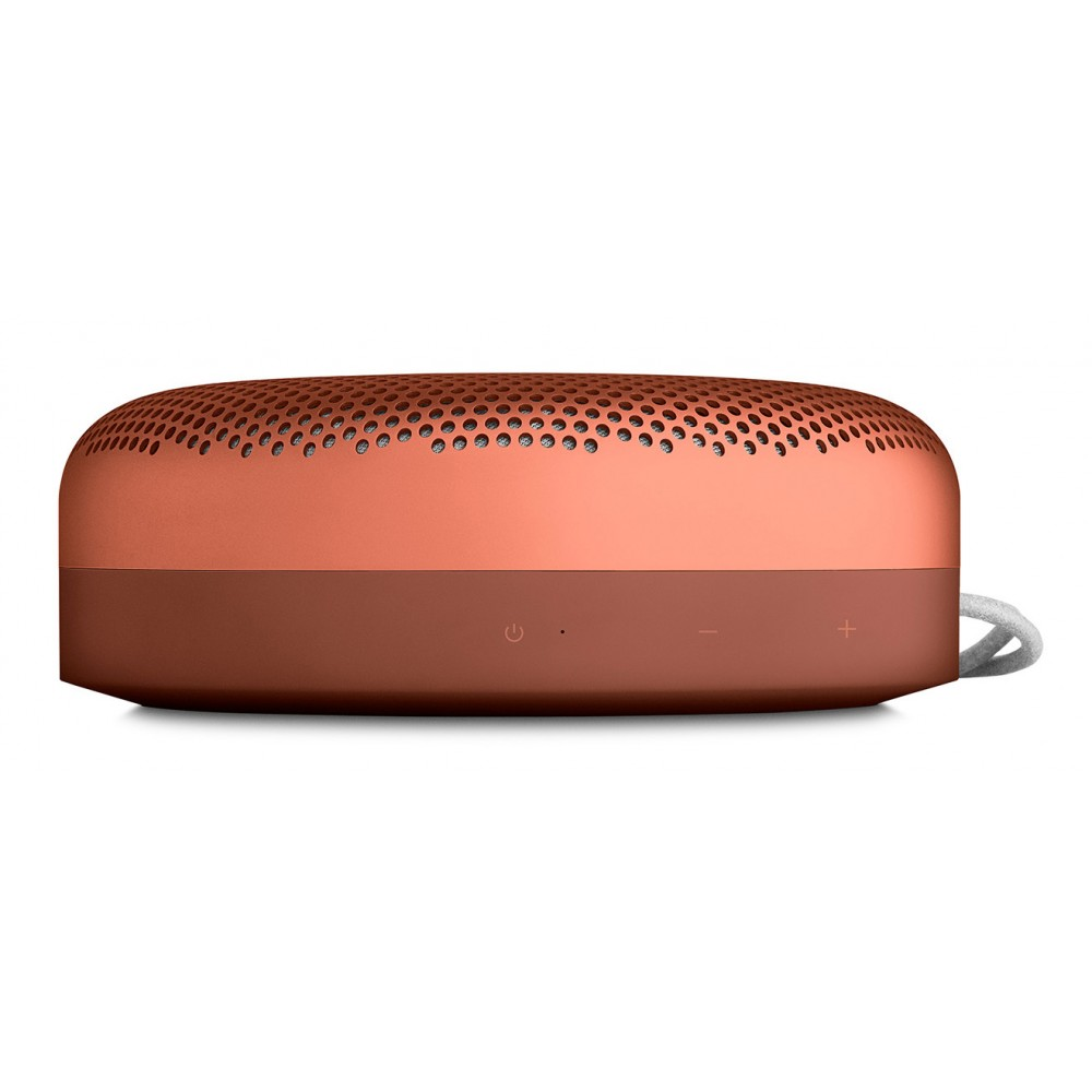 bang olufsen b o play beoplay a1 tangerine red portable bluetooth high quality speaker. Black Bedroom Furniture Sets. Home Design Ideas