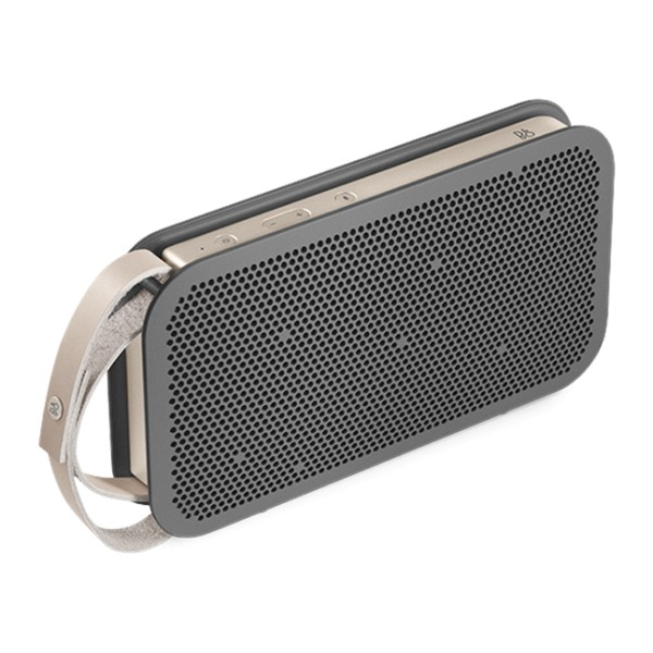 Bang & Olufsen - B&O Play - A2 Active - Charcoal Sand - Powerful Bluetooth High Quality Speaker with Up to 24 hrs Battery Life