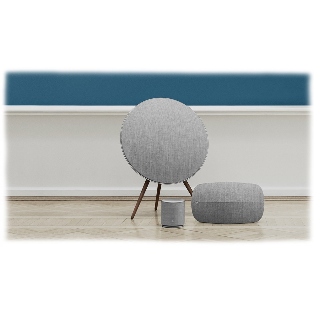 bang olufsen b o play beoplay a9 white modern classic innovative user interface high. Black Bedroom Furniture Sets. Home Design Ideas