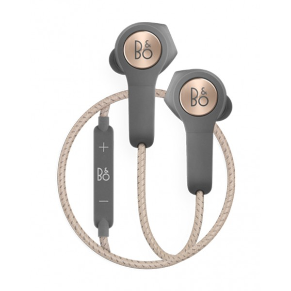 Bang & Olufsen - B&O Play - Beoplay H5 - Charcoal Sand - Wireless Earphones for Music Lovers Who Live to Move