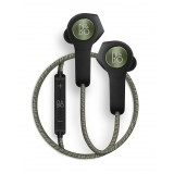 Bang & Olufsen - B&O Play - Beoplay H5 - Moss Green - Wireless Earphones for Music Lovers Who Live to Move