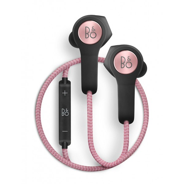 Bang & Olufsen - B&O Play - Beoplay H5 - Dusty Rose - Wireless Earphones for Music Lovers Who Live to Move