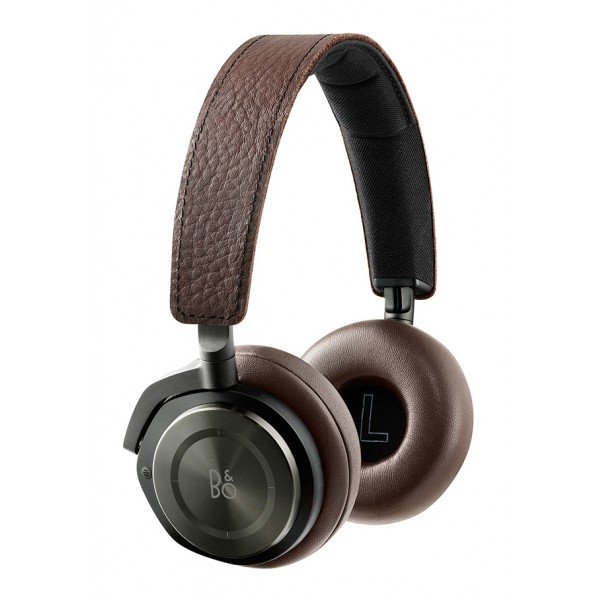 Bang & Olufsen - B&O Play - Beoplay H8 - Grigio Nocciola - Cuffie Wireless On-Ear di Alta Qualità - Cancellazione Rumore Attiva