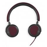 Bang & Olufsen - B&O Play - Beoplay H2 - Rosso Profondo - Cuffie Flessibili con Cavo On-Ear con Microfono e Controllo Remoto