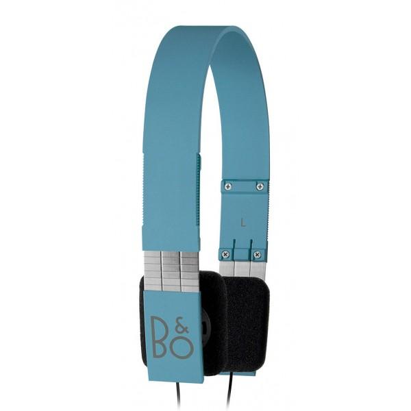 Bang & Olufsen - B&O Play - Form 2i - Blue - Lightweight and Ergonomic Retro Chic Designed Headphone
