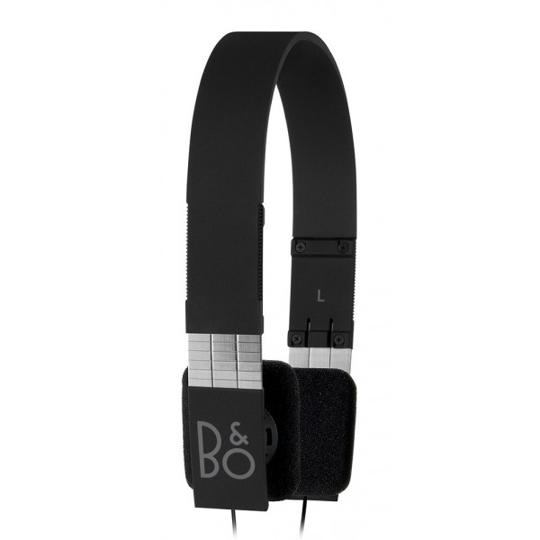 Bang & Olufsen - B&O Play - Form 2i - Black - Lightweight and Ergonomic Retro Chic Designed Headphone