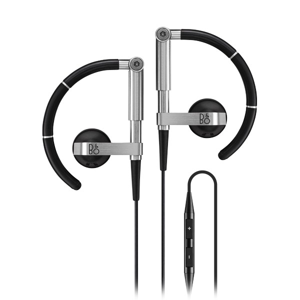 Bang & Olufsen - B&O Play - Earset 3i - Black - Flexible High Quality Earphones Ultra Light and Adjustable - Remote & Microphone