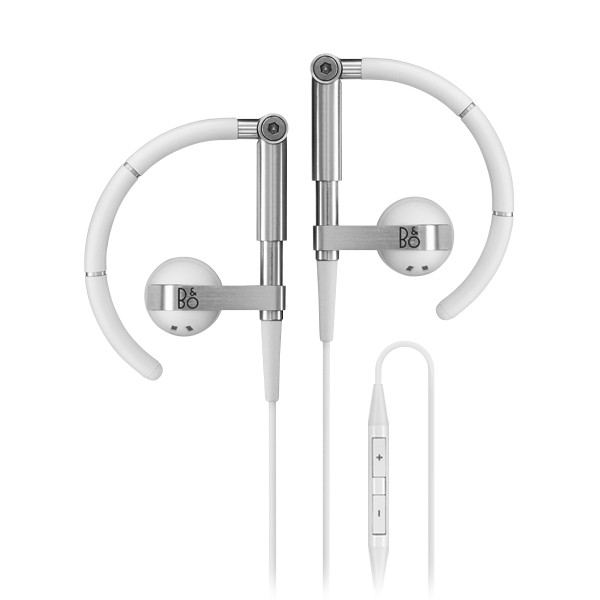 Bang & Olufsen - B&O Play - Earset 3i - White - Flexible High Quality Earphones Ultra Light and Adjustable - Remote & Microphone