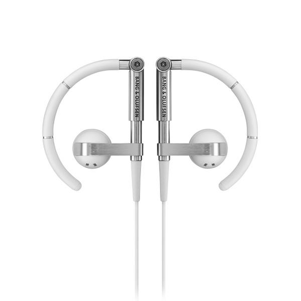 B&O Play - Bang & Olufsen - Earset 3i - Bianco - Auricolari Flessibili di Alta Qualità Flessibili Ultra Leggeri e Regolabili