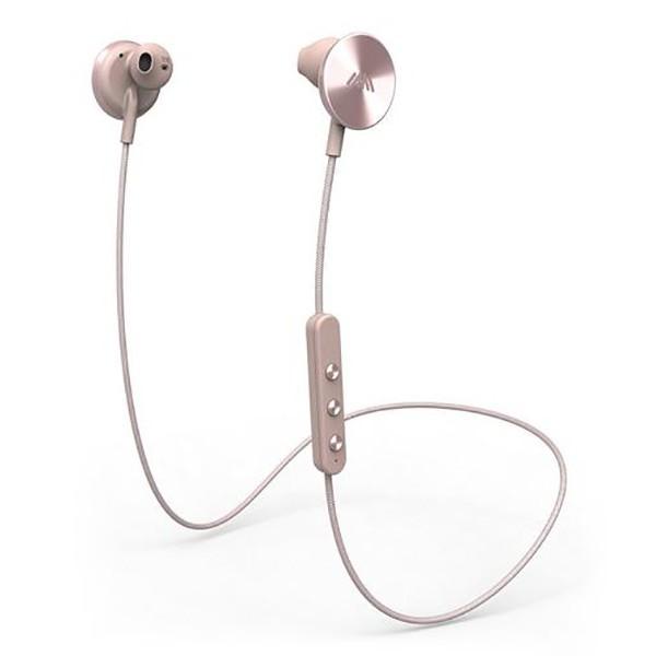 i.am+ - I Am Plus - Buttons - Rosa - Auricolari Premium Wireless Bluetooth - Disegnati per un Suono Avvolgente