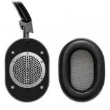 Master & Dynamic - MW60 - Metallo Fucile / Pelle Nera - Cuffie Auricolari Premium Wireless di Alta Qualità ad Alte Prestazioni