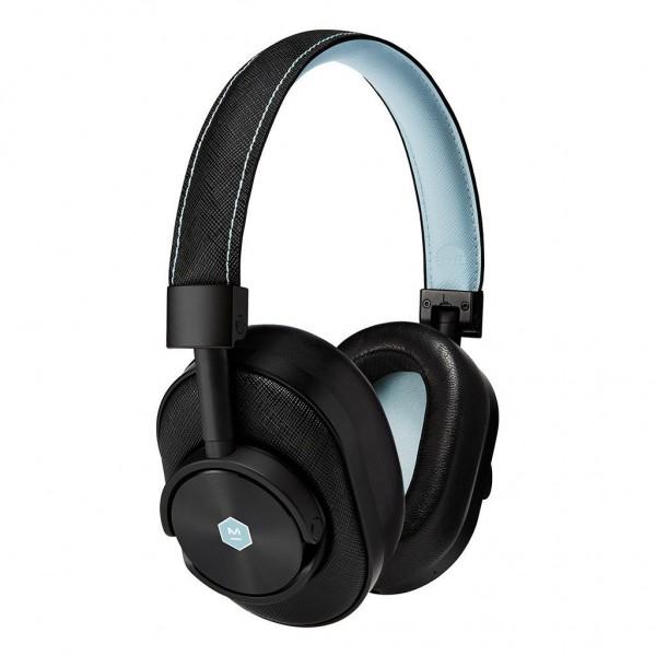 Master & Dynamic - MW60 - Limited Edition - Bamford Watch Department - Black Metal / Black Leather - Wireless Headphones