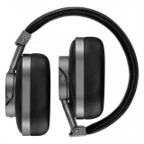 Master & Dynamic - MW60 - Halliburton Case - Gunmetal / Black Leather - Premium High Quality Wireless Over-Ear Headphones