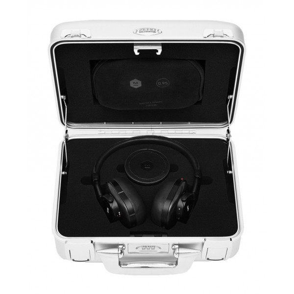 Master & Dynamic - MW60 - Halliburton Case - Leica 0.95 - Black - Premium High Quality Wireless Over-Ear Headphones