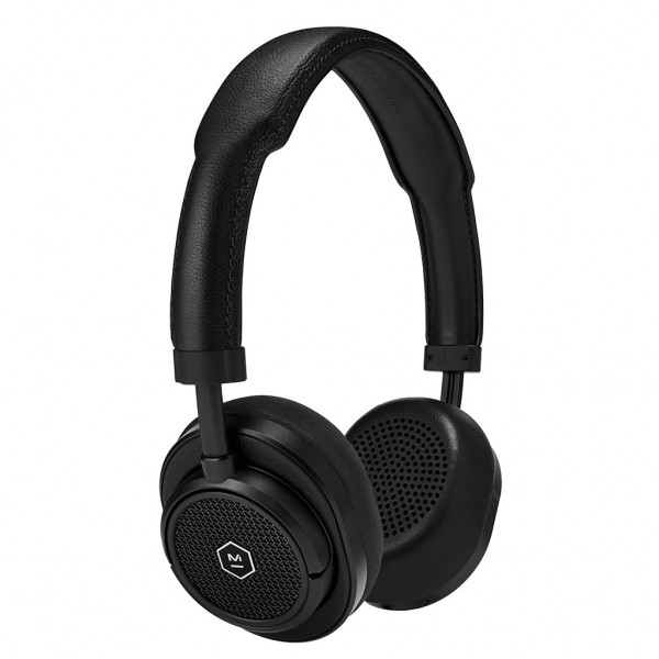Master & Dynamic - MW50 - Black Metal / Black Leather - Premium High Quality and Performance Wireless On-Ear Headphones
