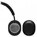 Master & Dynamic - MW50 - Metallo Nero / Pelle Nera - Cuffie Auricolari Premium Wireless - Alta Qualità - Alte Prestazioni