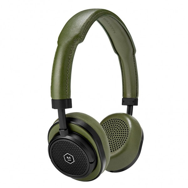 Master & Dynamic - MW50 - Silver Metal / Brown Leather - Premium High Quality and Performance Wireless On-Ear Headphones