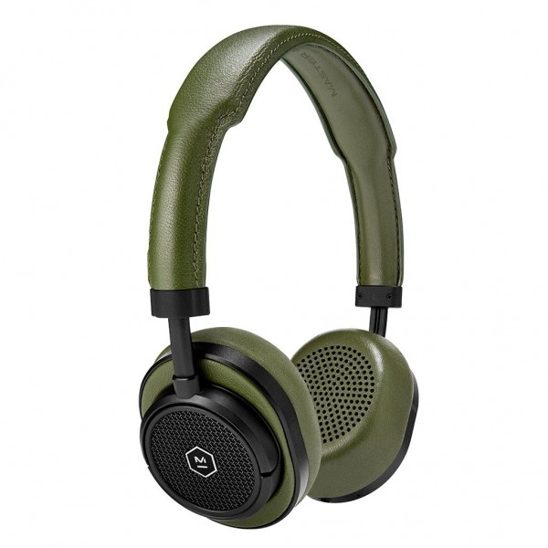 Master & Dynamic - MW50 - Metallo Argento / Pelle Marrone - Cuffie Auricolari Premium Wireless - Alta Qualità - Alte Prestazioni