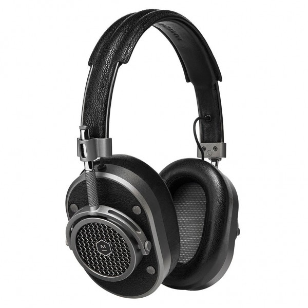 Master & Dynamic - MH40 - Gunmetal / Black Leather - Premium High Quality and Performance Over-Ear Headphones