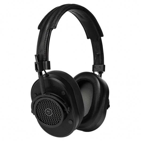 Master & Dynamic - MH40 - Black Metal / Black Leather - Premium High Quality and Performance Over-Ear Headphones