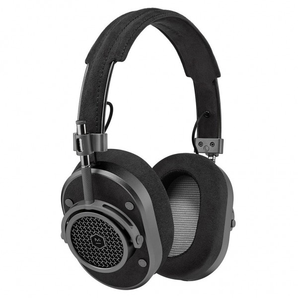 Master & Dynamic - MH40 - Metallo Fucile / Pelle Alcantara - Cuffie Auricolari Premium di Alta Qualità ad Alte Prestazioni