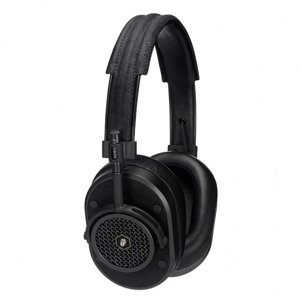 Master & Dynamic - MH40 - Limited Edition - The Rolling Stones - Black Metal / Black Leather - Premium Over-Ear Headphones