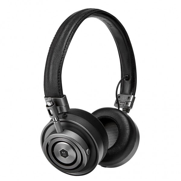 Master & Dynamic - MH30 - Gunmetal / Black Leather - Premium High Quality and Performance On-Ear Headphones
