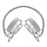 Master & Dynamic - MH30 - Metallo Argento / Pelle Bianca - Cuffie Auricolari Premium di Alta Qualità ad Alte Prestazioni
