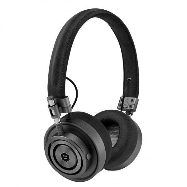 Master & Dynamic - MH30 - Gunmetal / Black Alcantara - Premium High Quality and Performance On-Ear Headphones