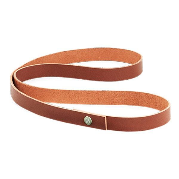 Bang & Olufsen - B&O Play - Beoplay A2 Long Strap - Cognac - Leather Strap with Aluminium Button