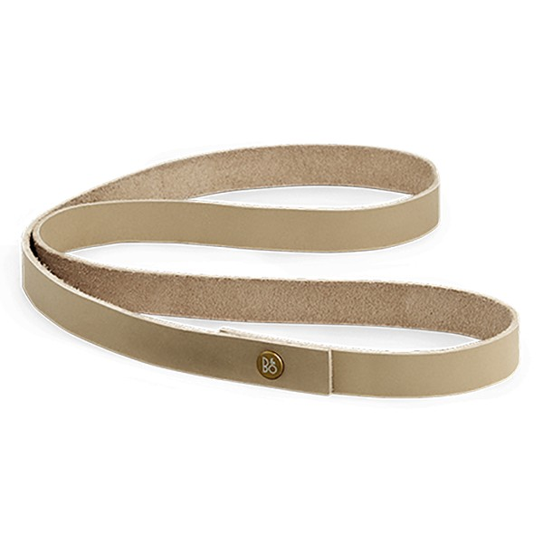 Bang & Olufsen - B&O Play - Beoplay A2 Long Strap - Natural - Leather Strap with Aluminium Button