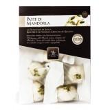 Vincente Delicacies - Paste di Mandorla Sicilia Pistacchio Ricoperte di Finissimo Cioccolato Bianco - Crystal