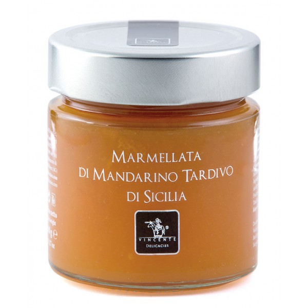 Vincente Delicacies - Sicilian Late Mandarin Marmalade - Artisan Marmalades and Preserves