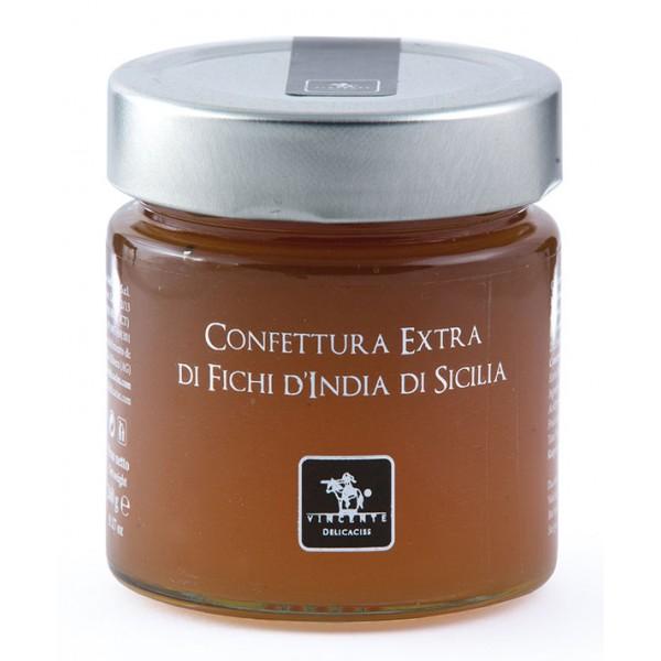 Vincente Delicacies - Sicilian Prickly Pear Extra Preserve - Artisan Marmalades and Preserves