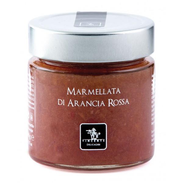 Vincente Delicacies - Marmellata di Arancia Rossa di Sicilia - Marmellate e Confetture Artigianali
