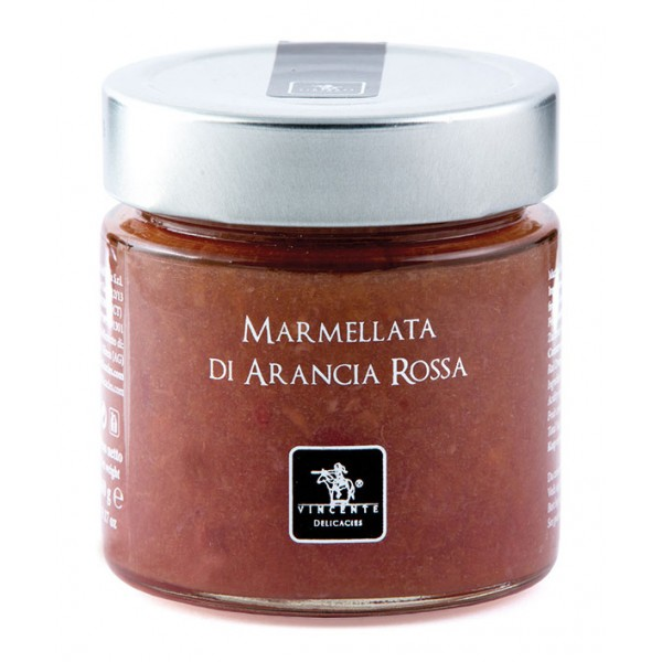 Vincente Delicacies - Sicilian Blood Orange Marmalade - Artisan Marmalades and Preserves