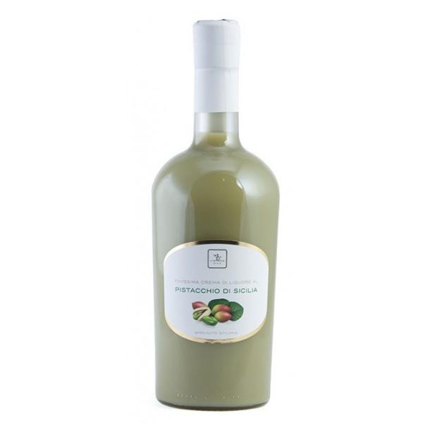 Vincente Delicacies - Finissima Crema di Liquore al Pistacchio di Sicilia - Creme di Liquore
