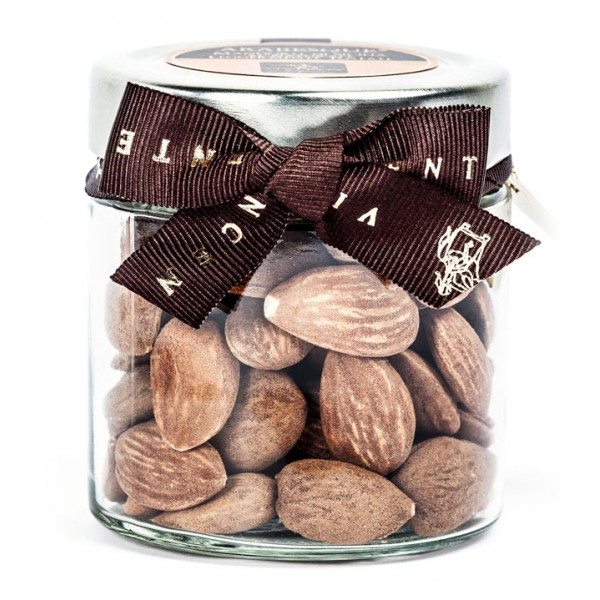 Vincente Delicacies - Lightly Toasted Sicilian Almonds - Arabesque - Dried Fruits in Ribbon Box
