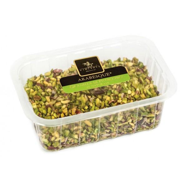 Vincente Delicacies - Granella di Pistacchio di Sicilia - Frutta Secca in Vaschetta
