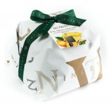 Vincente Delicacies - Panettone with Sicilian Pistachio, Pineapple and Apricot - Les Fruits - Hand Wrapped Artisan