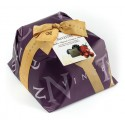 Vincente Delicacies - Panettone Ricoperto di Cioccolato Bianco con Frutti di Bosco - Silvestre - Artigianale Incartato a Mano