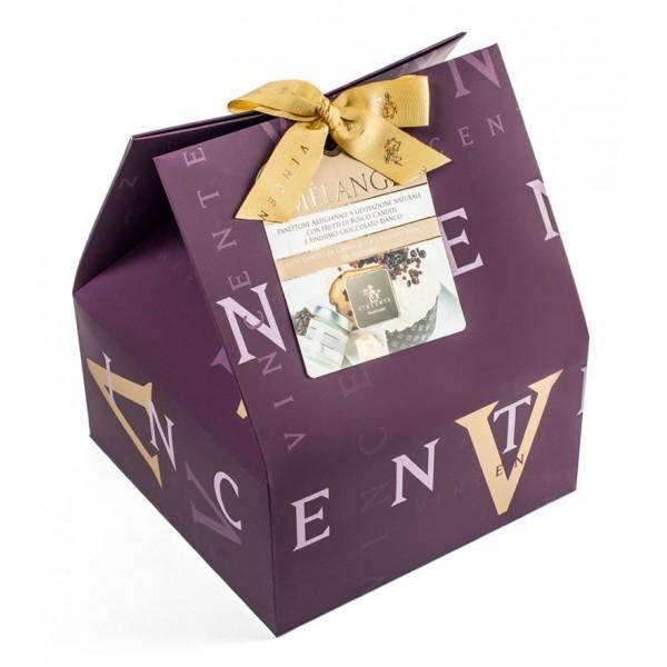 Vincente Delicacies - Panettone Ricoperto di Cioccolato Bianco con Crema di Cioccolato Bianco - Mélange